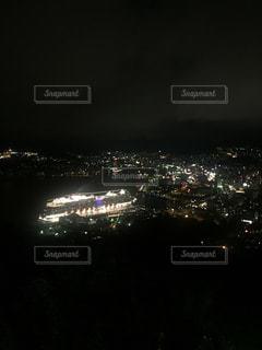 夜,夜景,長崎港