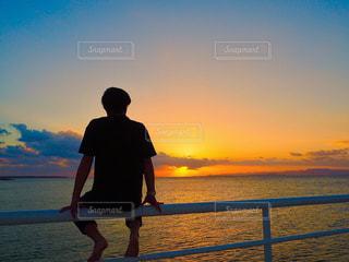 夕陽の写真・画像素材[982682]