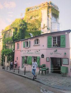 パリの街角の写真・画像素材[2232042]