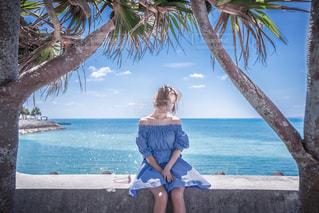 青い海との写真・画像素材[2232321]