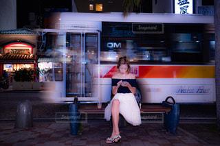 沖縄の夜にの写真・画像素材[2283350]