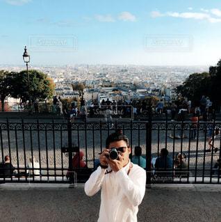 パリでの一枚の写真・画像素材[2317220]