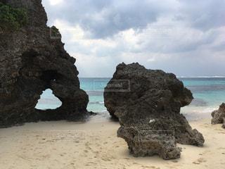 沖縄,旅行,宮古島,ハート岩