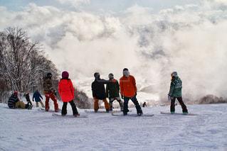 雪山の写真・画像素材[350970]