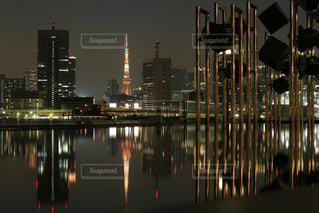 東京タワーの写真・画像素材[532137]