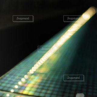 光玉のラインの写真・画像素材[1260406]