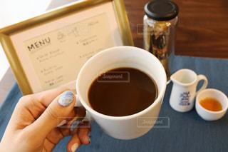 一杯のコーヒーの写真・画像素材[1272280]