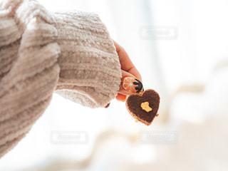 チョコレート カバー ドーナツの写真・画像素材[1757211]