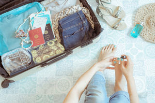 スーツケースの写真・画像素材[2076578]