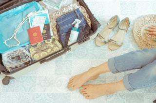 スーツケースの写真・画像素材[2076585]
