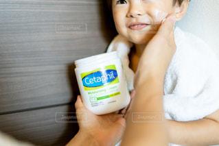 笑顔,男の子,アンバサダー,2歳半,保湿ケア,セタフィル,薬剤師開発,セタフィルPRO