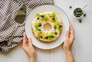 食べ物の皿の写真・画像素材[3200343]
