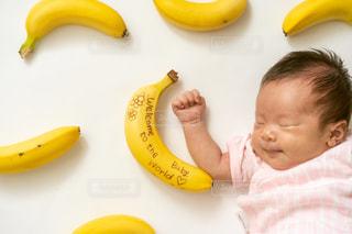 黄色,赤ちゃん,バナナ