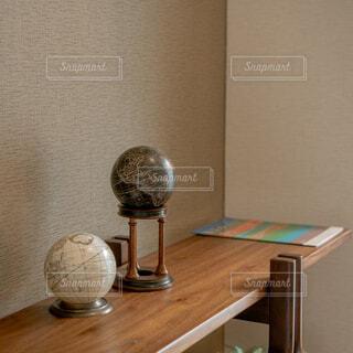 木製のテーブルの写真・画像素材[4267672]