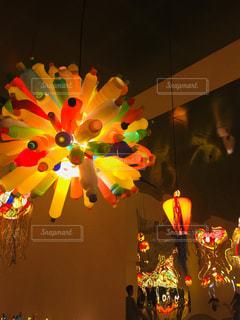 色とりどりの花のグループの写真・画像素材[779856]