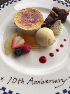 ケーキ,記念日,結婚10年目のケーキ,10th