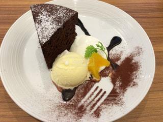 ケーキ,ナイフ,ガトーショコラ
