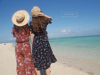 コンドイビーチにての写真・画像素材[1370782]