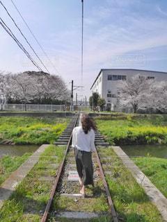 春のお散歩の写真・画像素材[3205021]