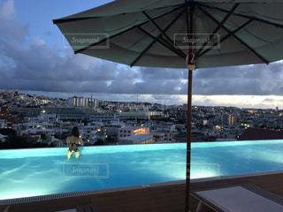 沖縄プールの写真・画像素材[3640691]