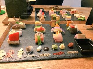 京都AWOMBの手織り寿司の写真・画像素材[866903]
