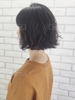 黒髪ボブの写真・画像素材[1505921]