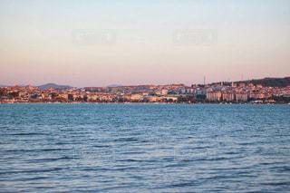 夕日,夕焼け,観光,トルコ,海外旅行,アイワルク