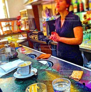 カフェ,風景,コーヒー,ローマ,イタリア,カフェバー