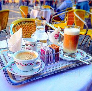 カフェ,風景,コーヒー,イタリア,ヴェネチア,イタリアの風景