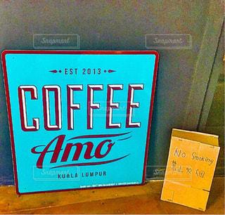 カフェ,インテリア,コーヒー,青,旅行,マレーシア,クアラルンプール