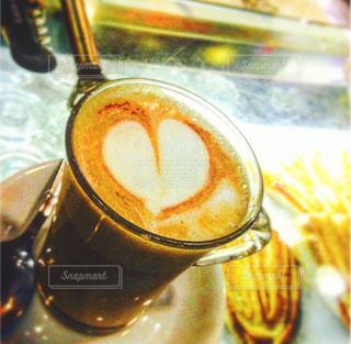 カフェ,コーヒー,ローマ,ハート,旅行,イタリア,ラテアート,カフェオレ