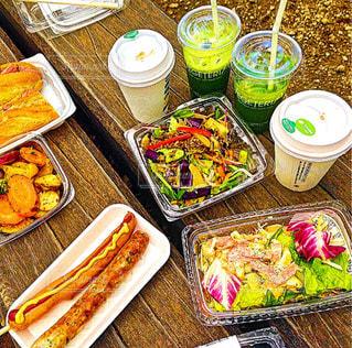 カフェ,食事,ランチ,吉祥寺,ピクニック,サラダ,サンドイッチ,お昼ご飯,井之頭公園,ドトールコーヒー