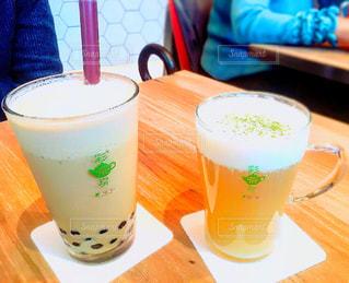 カフェ,台湾,原宿,タピオカ,彩茶房,タピオカミルクティー,台湾茶カフェ,岩塩チーズ緑茶