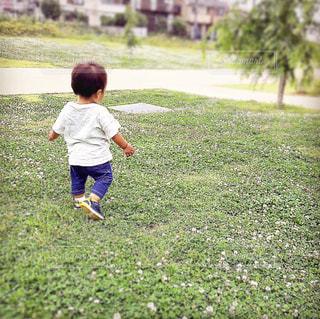 公園にての写真・画像素材[2165857]