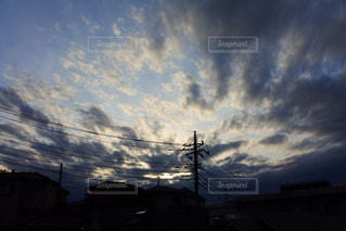 空の雲の写真・画像素材[1137245]