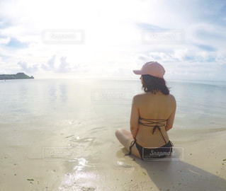 海,夏,水着,旅,グアム,ビキニ,ゴープロ