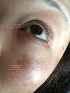 かお,目,瞳,40代,眼球