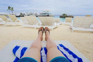 海,夏,南国,ビーチ,水着,昼寝,リラックス,トロピカル,フィリピン,バカンス,リゾート,セブ島