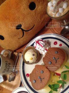 カフェ,パンケーキ,可愛い,キャラ,カピバラさん