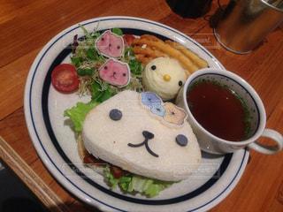 ランチ,サンド,カピバラさん,ハンズカフェ,美味しいランチ,多色