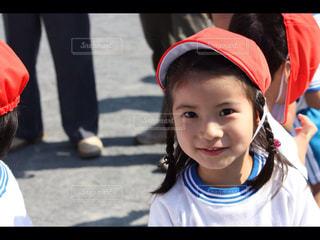 帽子をかぶった小さな女の子の写真・画像素材[769529]