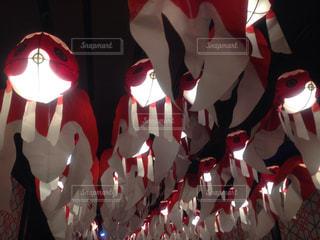 カラフルな風船のグループの写真・画像素材[770122]