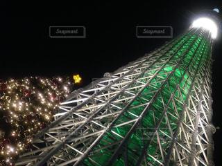 夜景,スカイツリー,イルミネーション,ライトアップ,クリスマス,ツリー