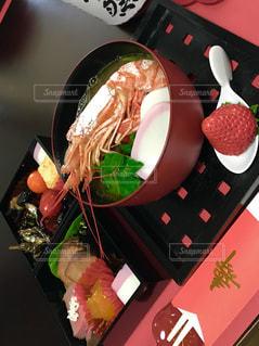 食べ物,食事,テーブル,お正月,お雑煮,和風,縁起,御節