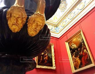 世界三大美術館のエルミタージュ美術館の写真・画像素材[794790]