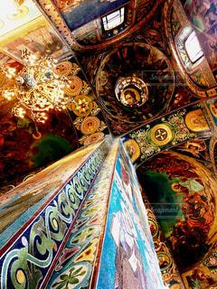 世界で最も美しい壁画の写真・画像素材[795053]