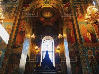 世界で最も美しい壁画の写真・画像素材[795648]