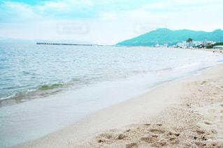 海,空,雲,青,砂浜,水着,山,防波堤,一眼レフ,NikonD40