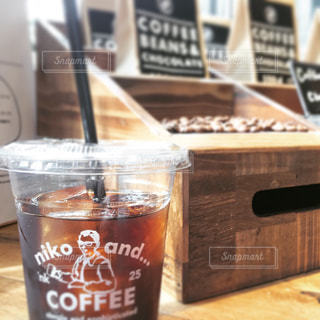 カフェ,コーヒー,COFFEE,アイスコーヒー,豆,オシャレ,マグカップ,エスプレッソ,渋谷,原宿,明治通り,休日,木箱,ショッピング,こだわり,ニコアンド,ニコ,niko and…
