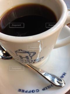 カフェ,コーヒー,黒,アップ,三軒茶屋,ズーム,マクロ,ブラック,星乃珈琲,寄り,ティースプーン